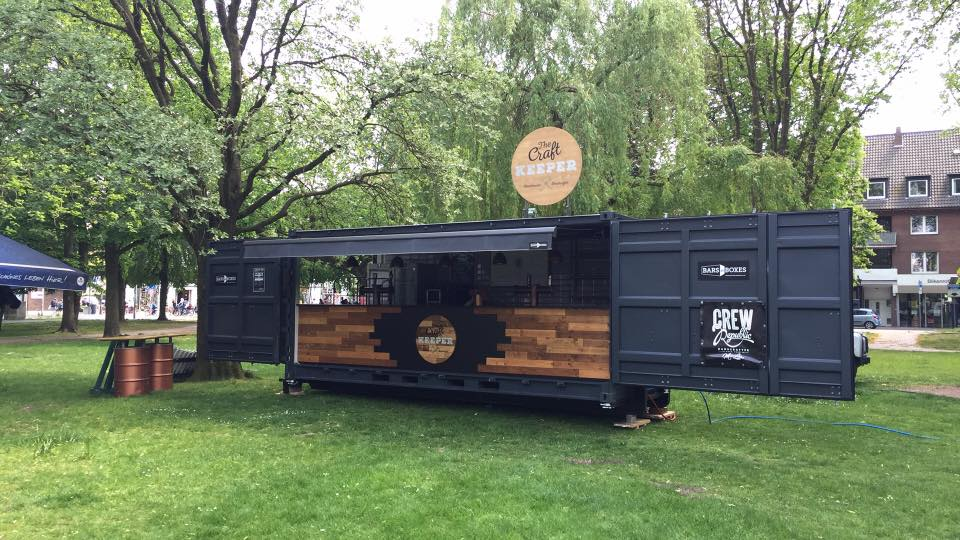Craft Bier Bar Container 1